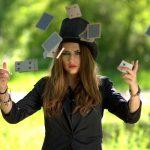 Une femme magicienne
