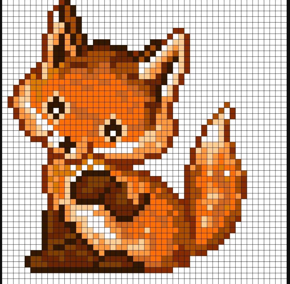 Pixel Art Animaux -