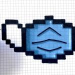 Pixel Art Facile : 15 modèles à imprimer 2021